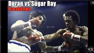 Roberto Duran vs Sugar Ray Leonard 1 Explained -Brawl in Montreal |Tyson's Favorite Fight| Breakdown