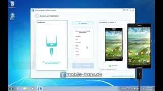 Wie Sie Daten wie Kontakte, SMS und Musik von iPhone auf Sony Xperia Z5/Z4/Z3/Z2/Z1 übertragen