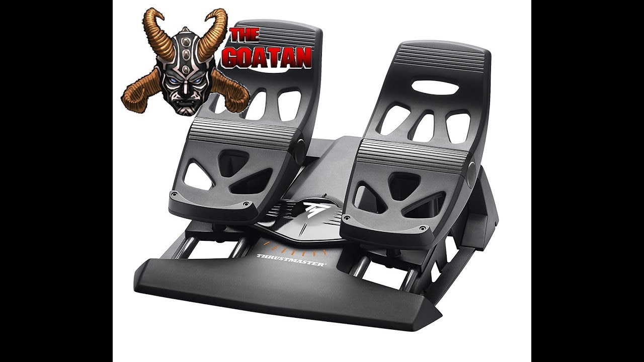 PS4 Rudder Pedals for HOTAS