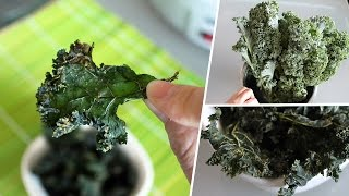 Avocado Dill Kale Chips | Vegan Recipe By Mary's Test Kitchen