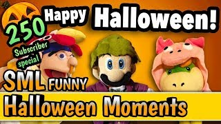 SML Funny Halloween Moments 250 subs special