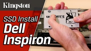 How to Install an SSD in Dell Inspiron 7000 Series – Kingston Technology