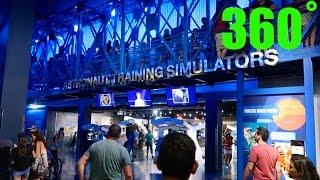 Astronaut Training Simulators walk around HD 360˚ -- Kennedy Space Center
