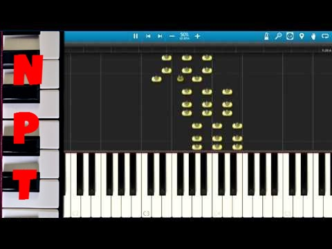 Darude Sandstorm Piano Tutorial Synthesia How To Play