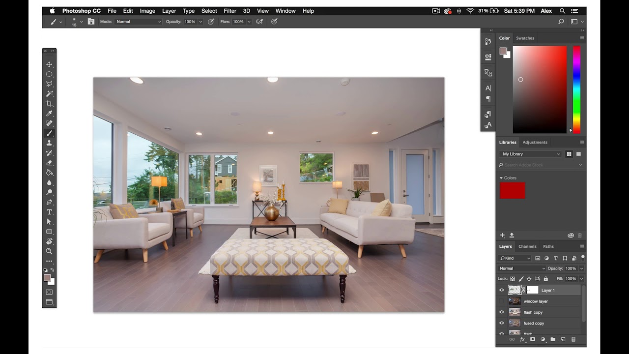 How to master advanced tools in Photoshop for real estate editing