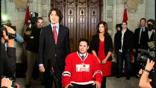 Brazeau Has Hair Cut After Boxing Loss to Justin Trudeau
