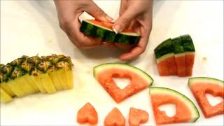 Valentine's Day Eatable Fruit Design - Valentines Day  Idea For Couple
