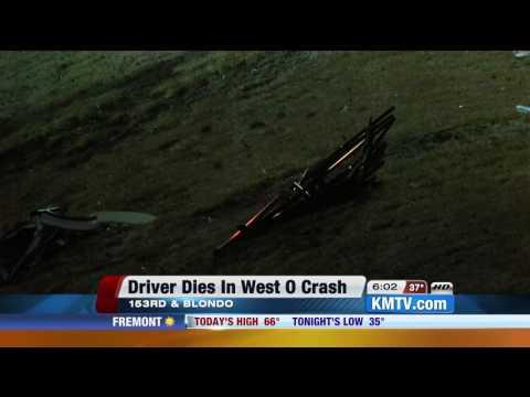 Man dies following Northwest Omaha crash
