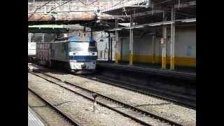 今現在日本で一番長い両数の貨物列車5584レ