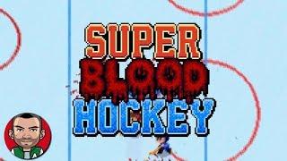Super Blood Hockey - Tutorial Gameplay (BUDGET GAME)