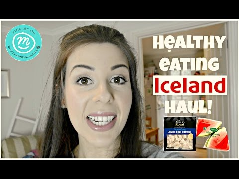 ICELAND HEALTHY EATING HAUL WITH CHANNEL MUM #ad | KERRY CONWAY