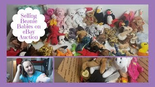 Selling Beanie Babies on eBay Auction: Beginner Reseller Mistakes #1