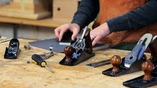 Sharpen Blade When Tuning A Hand Plane | Woodworking