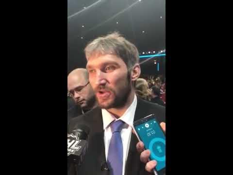 """""""Я вошел в 100 лучших игроков НХЛ, и это самая важная награда!"""" (интервью Овечкина)"""