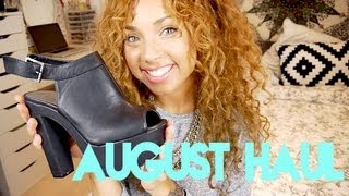 August Fashion Haul ♡