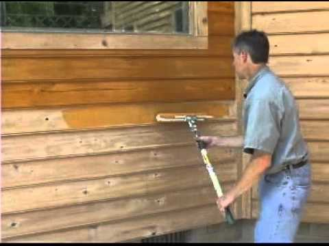 Tools And Tips For Applying Wood Coating To Siding Youtube