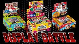 MATCH ATTAX 2018-2019 | STANDARD vs. ACTION vs. EXTRA | DISPLAY Unboxing Battle