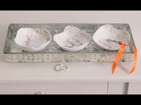 craft corner how to make small decorative bowls out of salt dough youtube. Black Bedroom Furniture Sets. Home Design Ideas