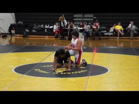 Isaiah wrestling 01/12/17 vs Grover C Fields Middle School