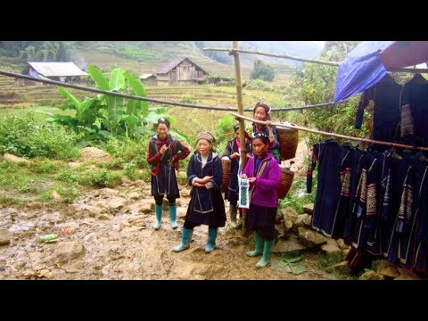 Vietnam Adventure - Sapa Minorities and Bac Ha Market (hike + homestay)