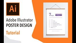 Illustrator cc bir poster oluşturma - Tasarım Eğitimi