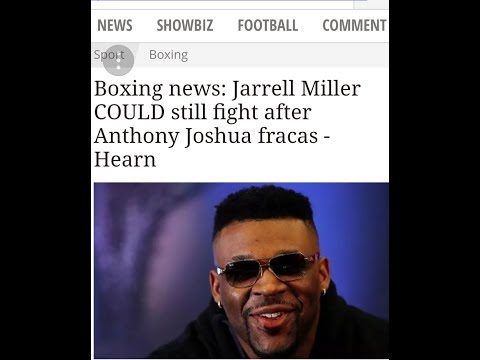 BREAKING NEWS))) JARRELL BIG BABY MILLER :POSSIBLY CAN STILL FIGHT !!!AJ!!!!!😧😲