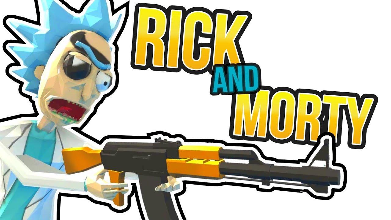Rick and Morty Ravenfield Mod