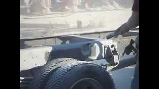 Peskarenje kamionske sasije 1