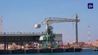 بدء العمل في أرصفة ميناء العقبة الجديد بعد نقل 97% من الآليات - (10-9-2018)