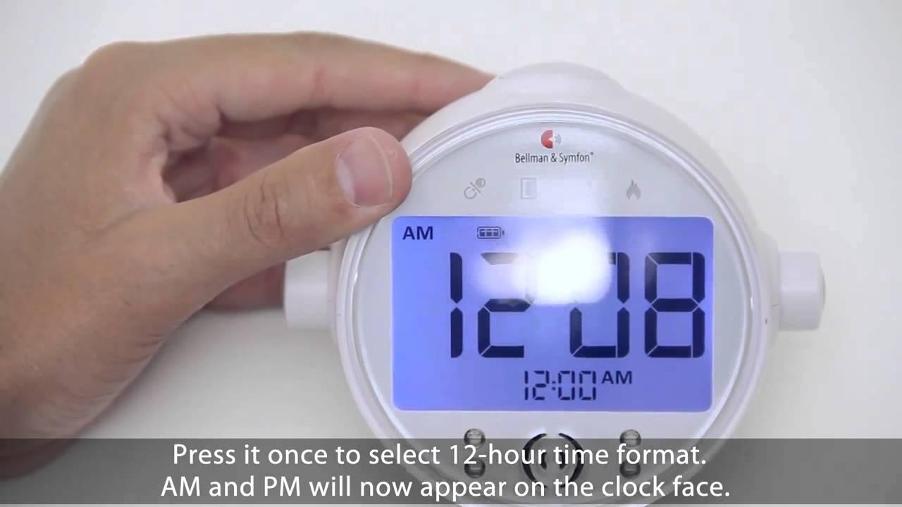 Bellman Pro Alarm Clock - How to use