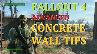 Advanced Concrete Building Tips Fallout 4