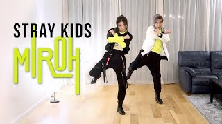 Stray Kids - 'MIROH' Dance Cover | Ellen and Brian