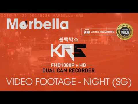 Marbella KR5 Video Footage (2 CH FHD1080P + HD720P)