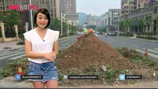 Tolak Digusur, Kuburan Ini Berdiri Di Tengah Jalan Raya