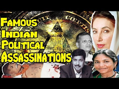 Top 5 Most Famous  Political Assassinations In Indian History