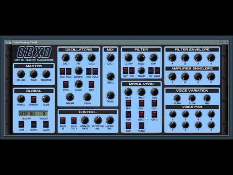 OBXD 2 synthesizer by 2DaT / Datsounds