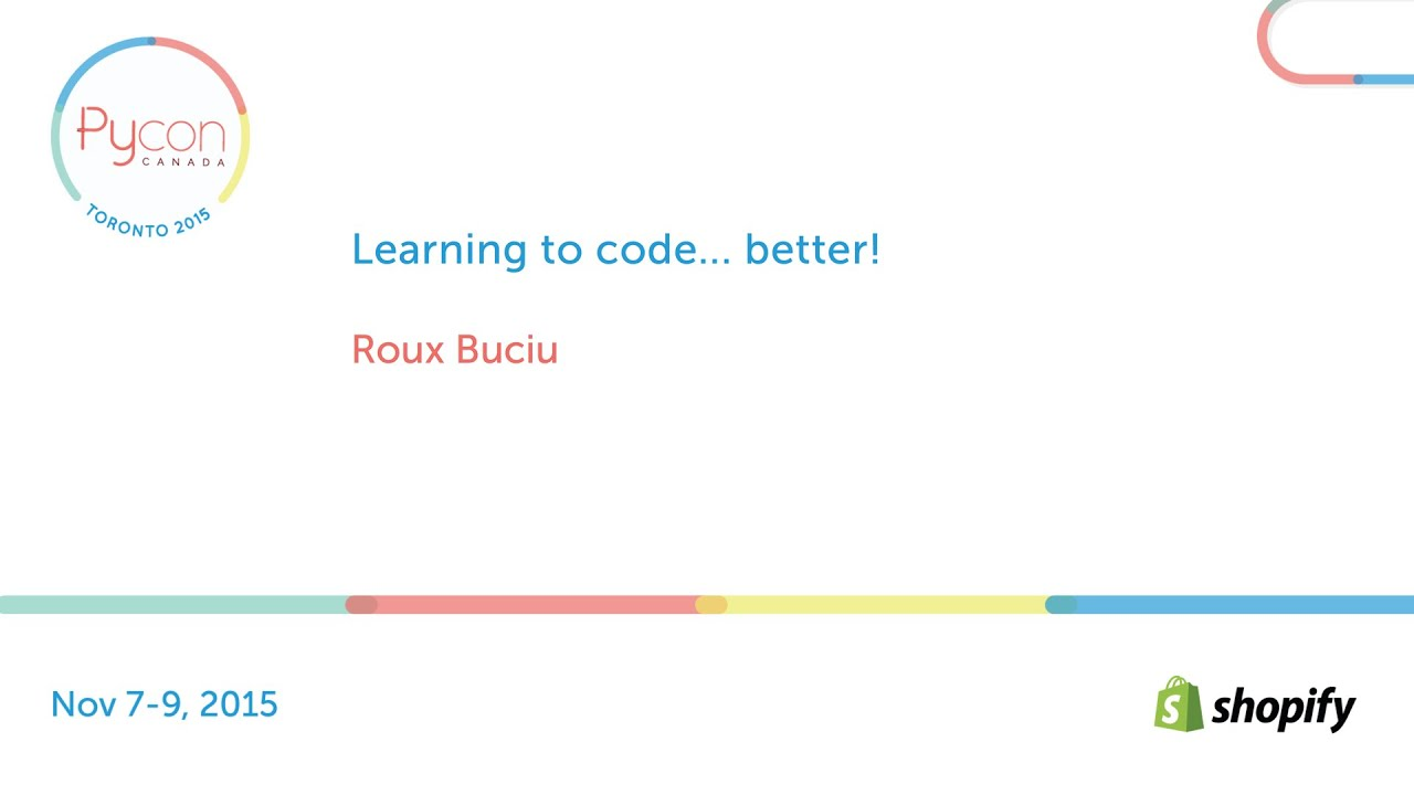 Image from Learning to code... better!