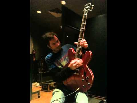 Chris Leonard Guitar Solo @ Sarm Studios