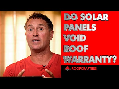 Do Solar Panels Void Roof Warranty?