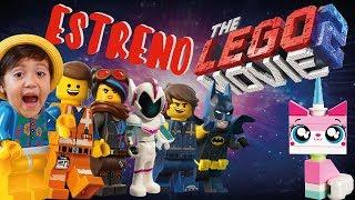 PELICULA LEGO MOVIE 2 / LA GRAN AVENTURA LEGO / VOY AL CINE A VER EL ESTRENO