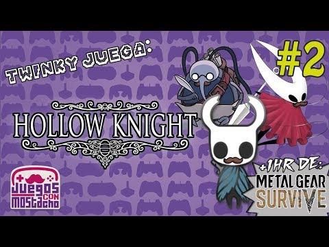 Twinky juega: Hollow Knight - Parte 2 + Metal Gear Survive Beta