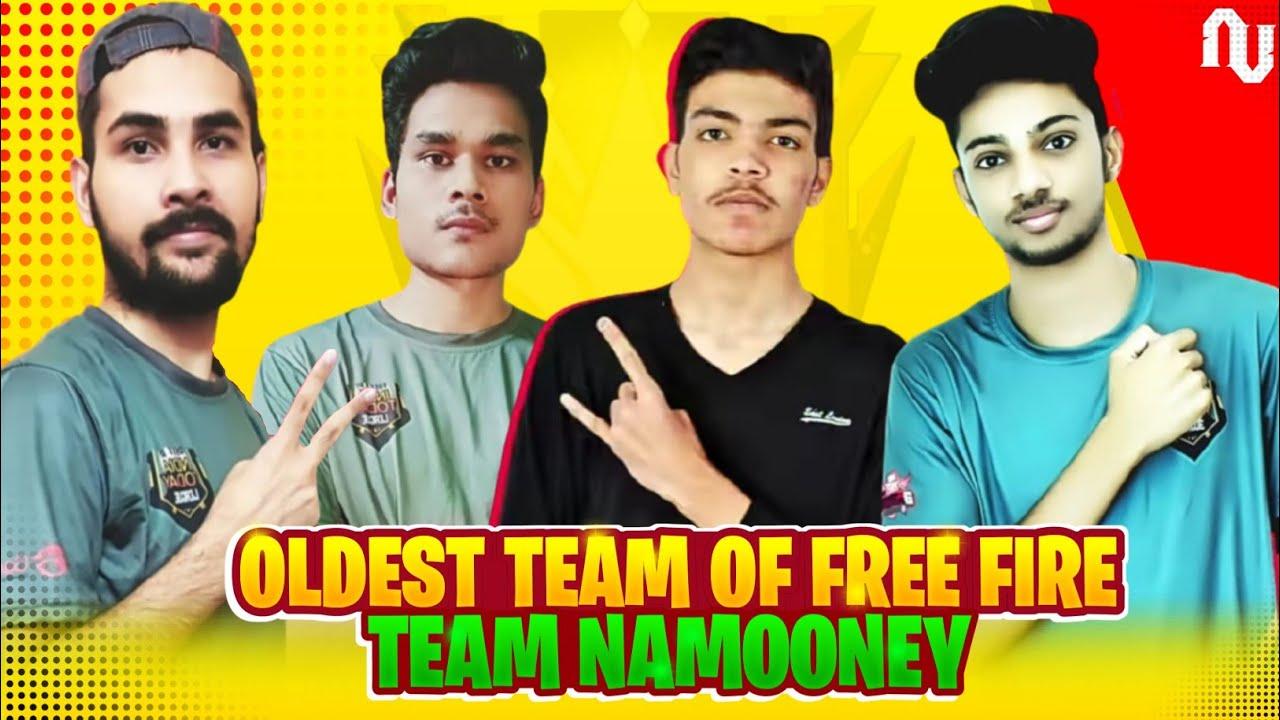 Story Of Oldest Team Of Free Fire Esports (Team Namooney) - Au Esportz