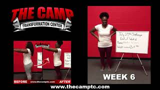 South Fort Worth TX Weight Loss Fitness 6 Week Challenge Results - Roymeshia W.