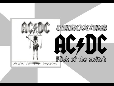 CD AC/DC: Flick of the Switch - UNBOXING