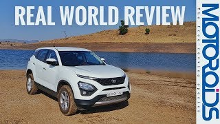 Tata Harrier Real World Review in Hindi | Service Cost | Drive Modes Tested