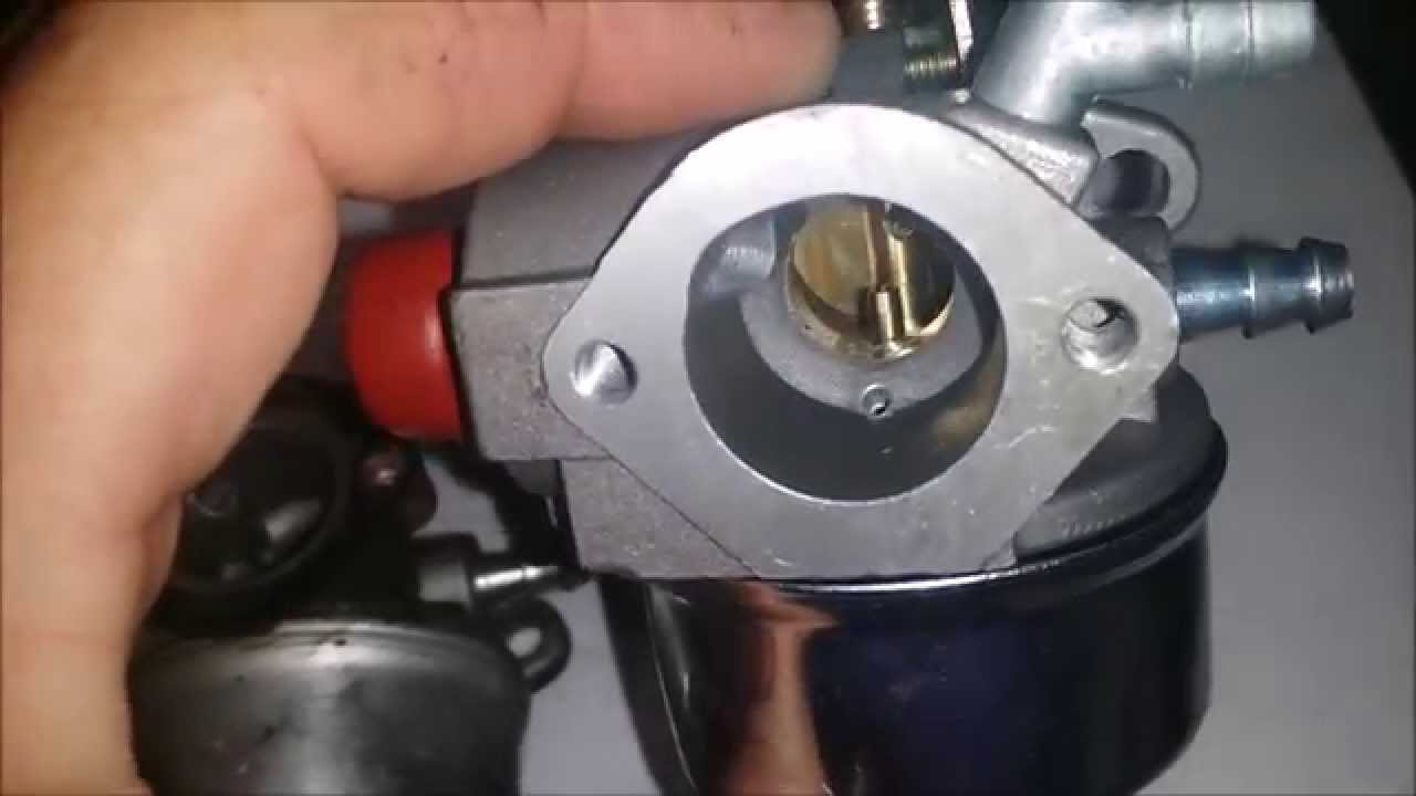 I Installed A Generic Carb On Tecumseh Go Kart And This