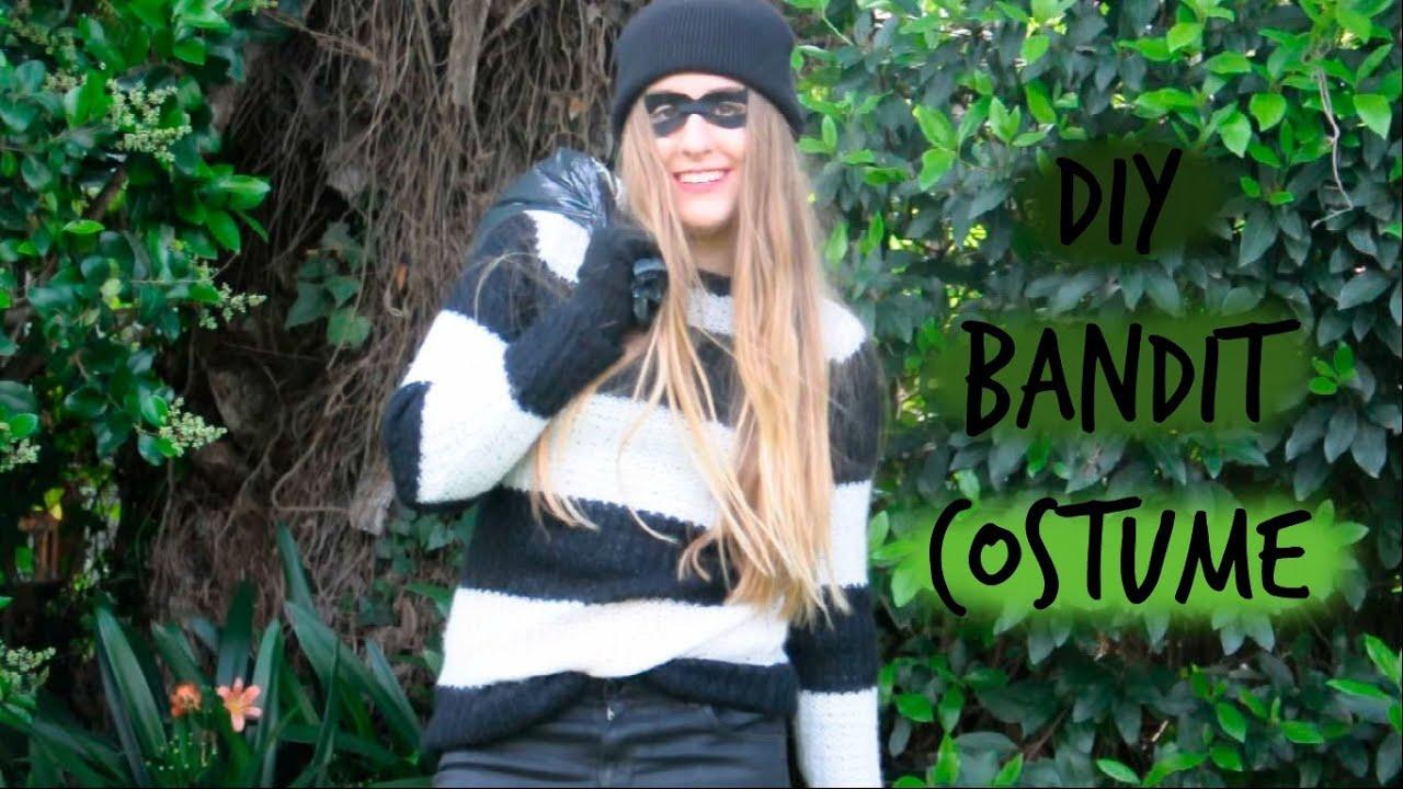 DIY Bandit Costume! Super Easy!! - YouTube