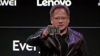 Что Показала Nvidia на CES 2018? Машины Захватят мир... XN#94