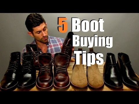How To Buy Perfect Boots | 5 Boot Buying Tips | Boot Buying