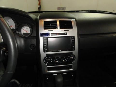 How To Remove And Install A DVD Double Din Nav Radio In A 2006 2011 Dodge Magnum Charger